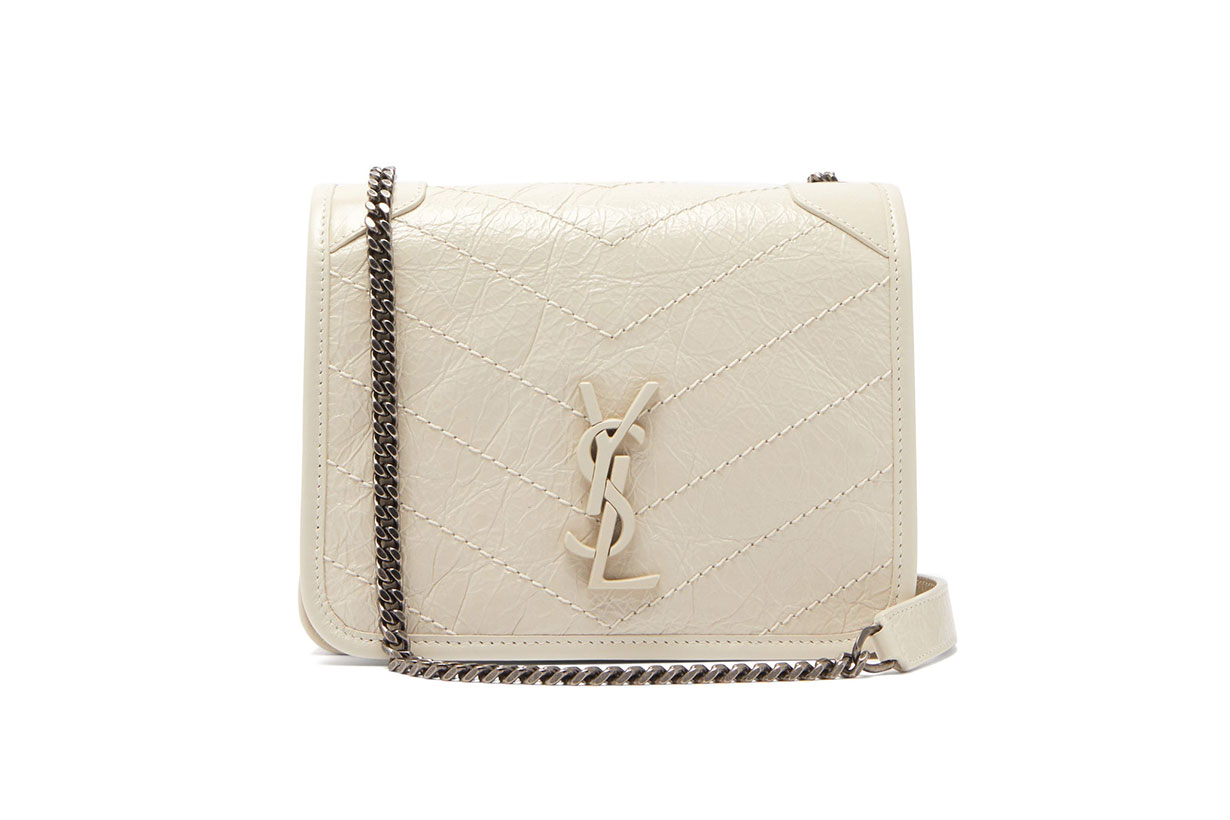 Niki Mini Leather Cross-body Bag