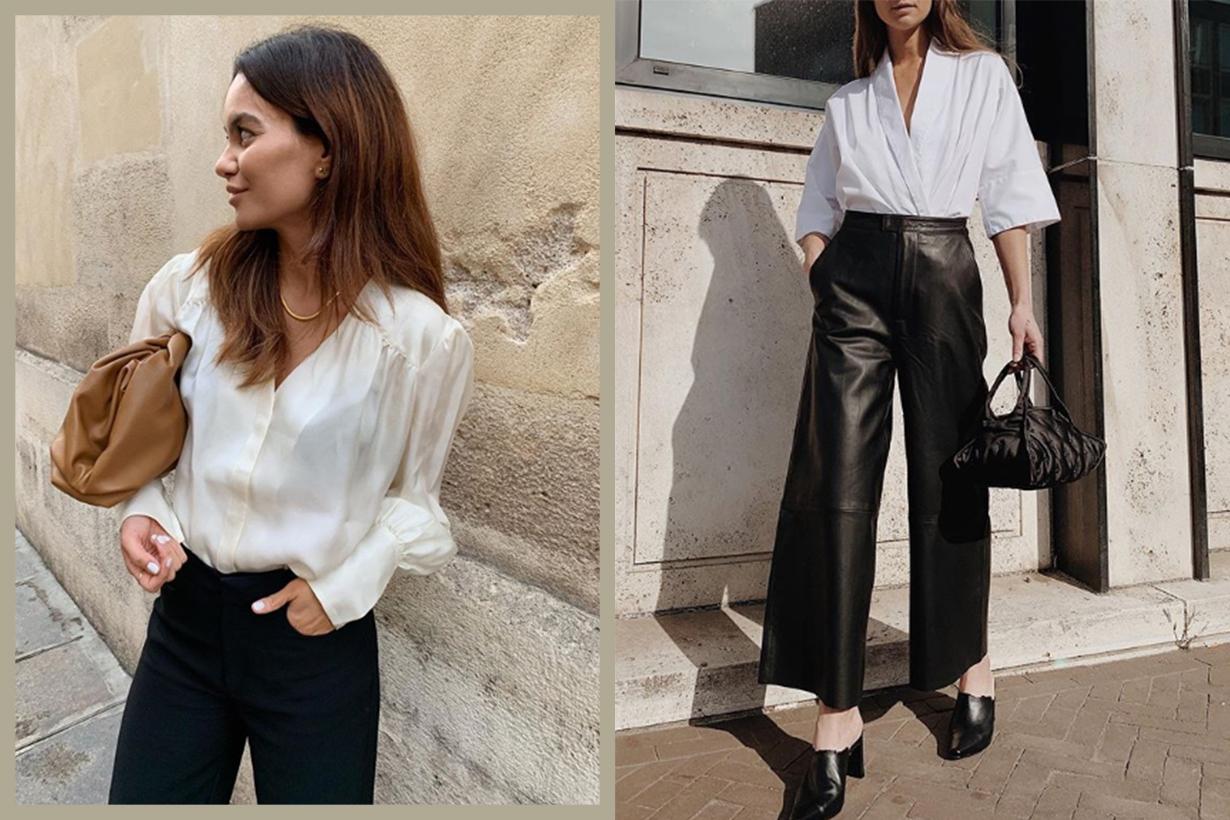 Fashion Influencers White Shirt Street Style