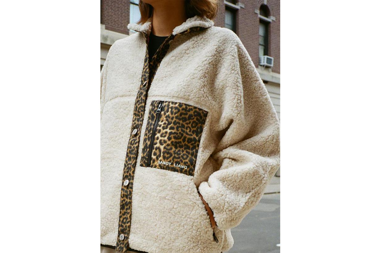 Sandy Liang Fleece Jacket