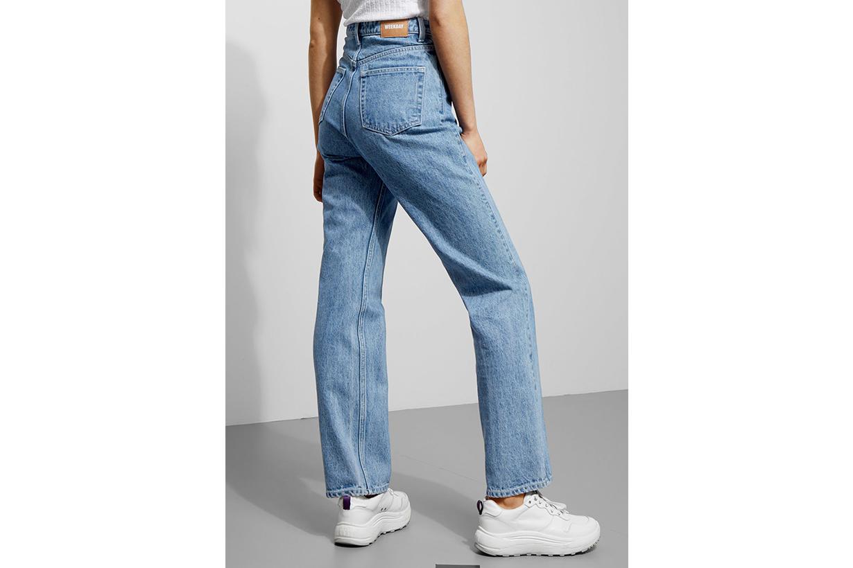 Weekday Rowe Sky Blue Jeans