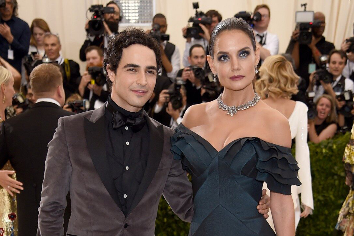 Katie Holmes and Zac Posen Red Carpet