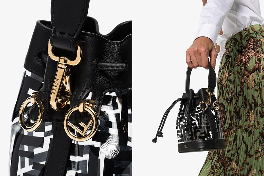 Fendi Bucket bag Mon Tresor Mini PVC Bag