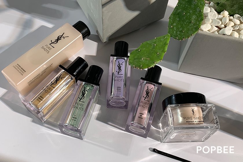 YSL Beauty Pure Shots The Ourika Garden