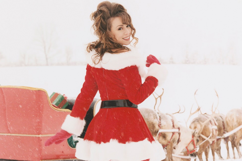 Mariah Carey All I Want for Christmas Is You 25th MV