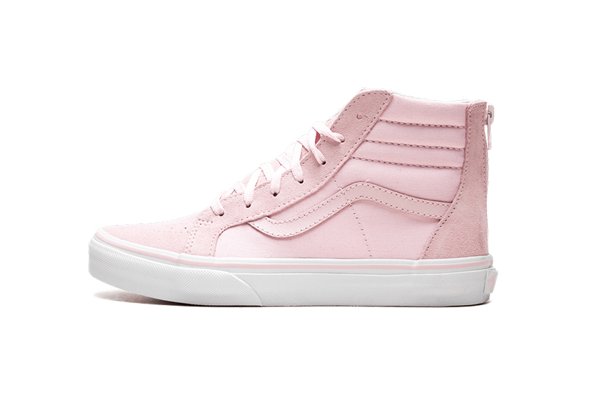 Korean Girl Pink Vans Sneaker