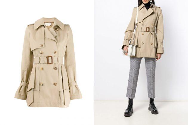 suzy alexander mcqueen trench coat where buy