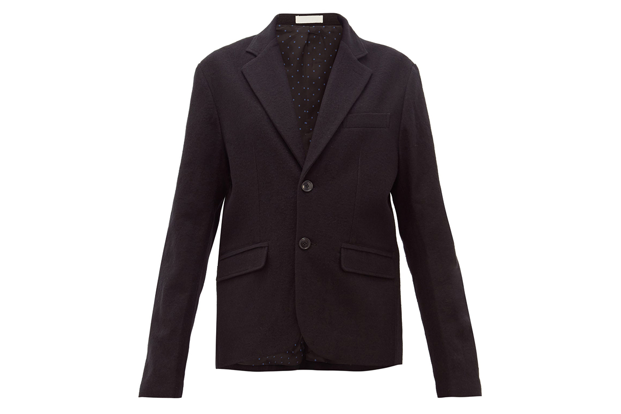 Annie Single-breasted Cotton-blend Blazer