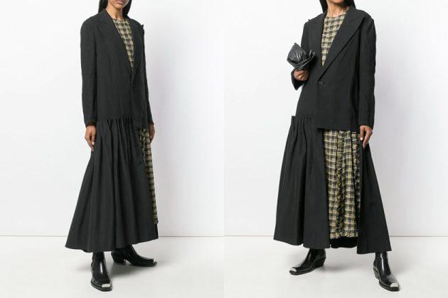 bella hadid blazer coat comfy fashion airport style it item