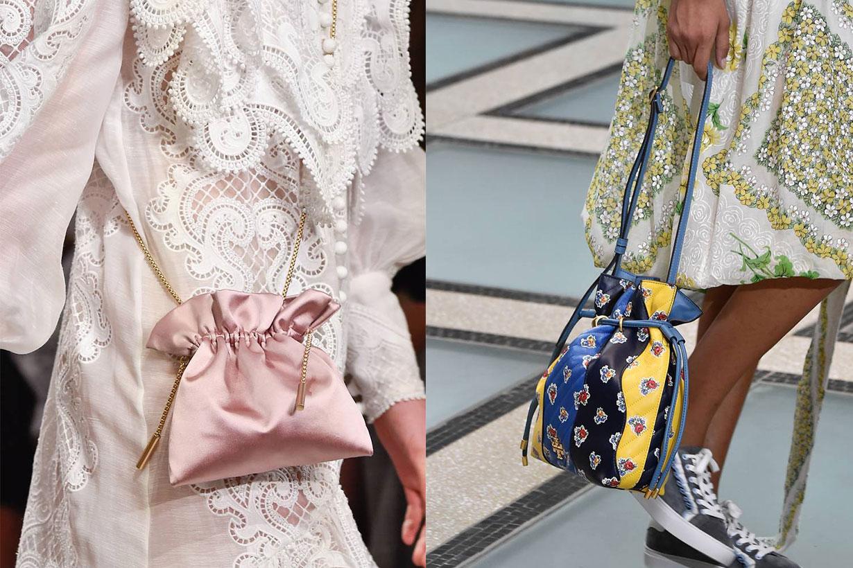 Zimmermann, Tory Burch Drawstring Bag