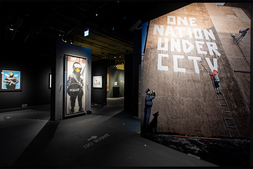 banksy genius or vandal hong kong exhibition street art 2019