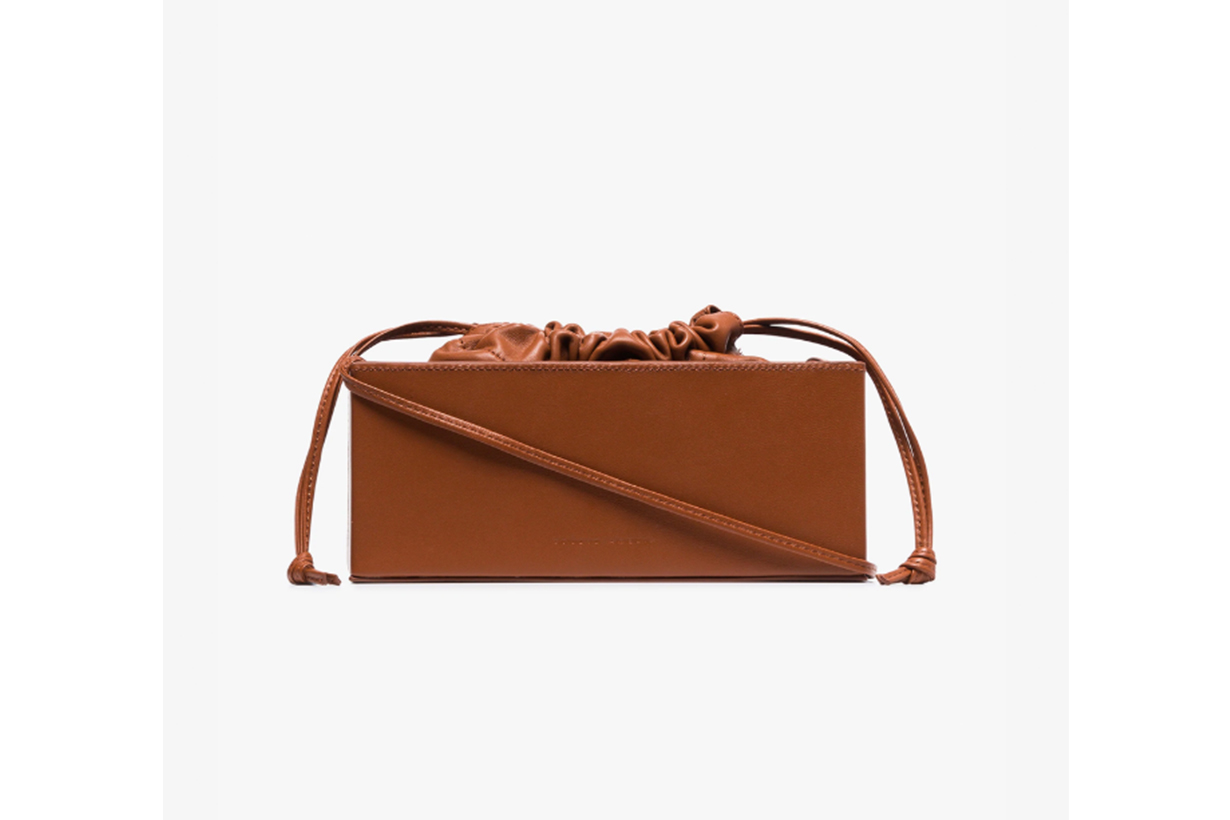 Brown 2.1 Box Bag