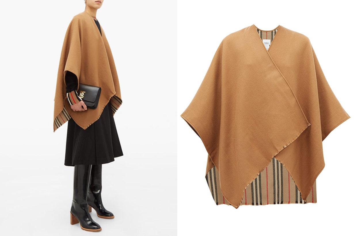 Charlotte Nova-stripe Oversized Wool Scarf