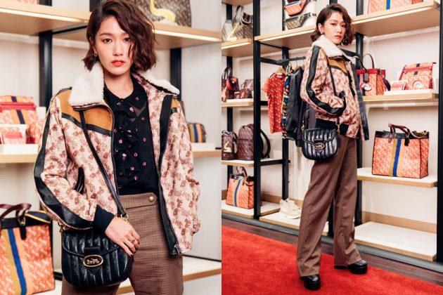 coach eve ai Puff Kuo Diane Lin handbags celeb taiwan 2020
