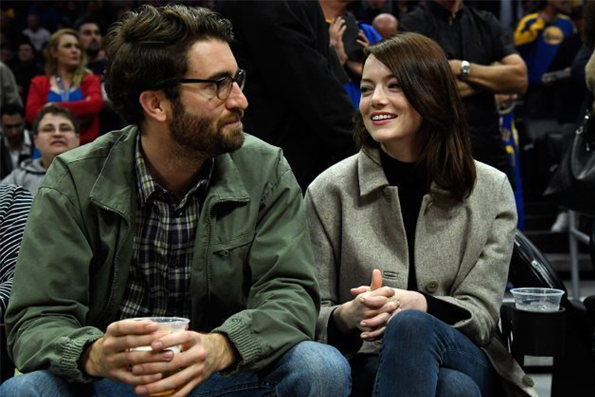 emma stone is engaged to dave mccary
