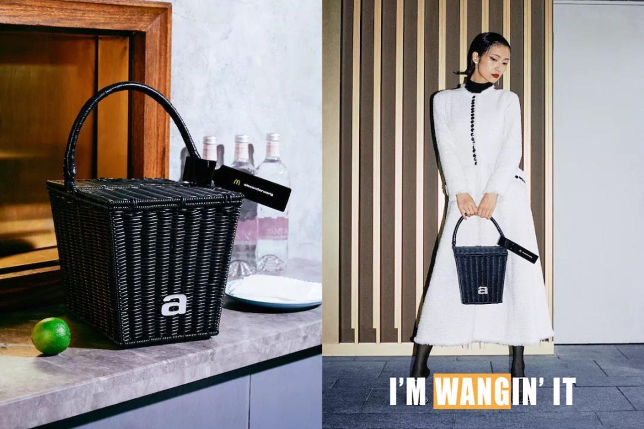 mcdonalds Alexander wang fast food inspired accessories