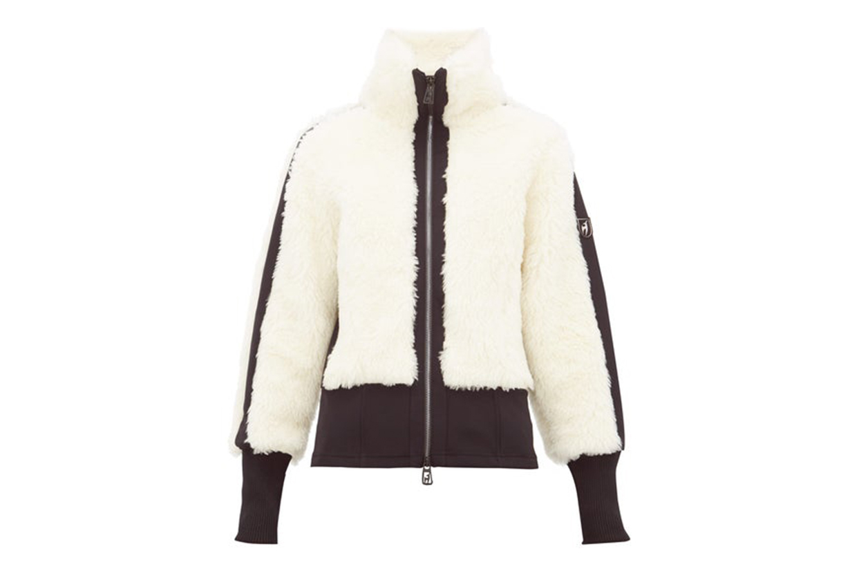 Jacquie Wool-blend Shearling Jacket