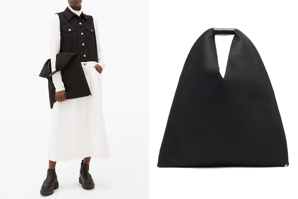 Japanese Padded Mesh Shoulder Bag