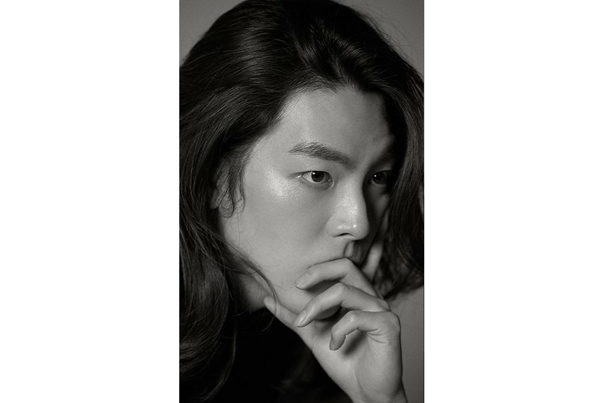 Kim Woo Bin SidusHQ pictorial photo posters long hair style celebrities hairstyles MBC documentary Humanimal korean idols celebrities actors