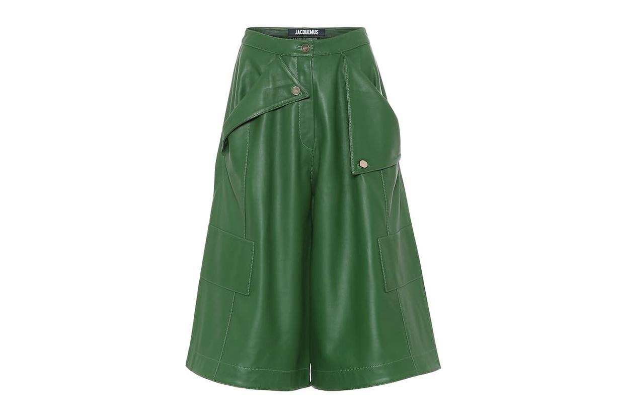 Le Short Belize Leather Shorts