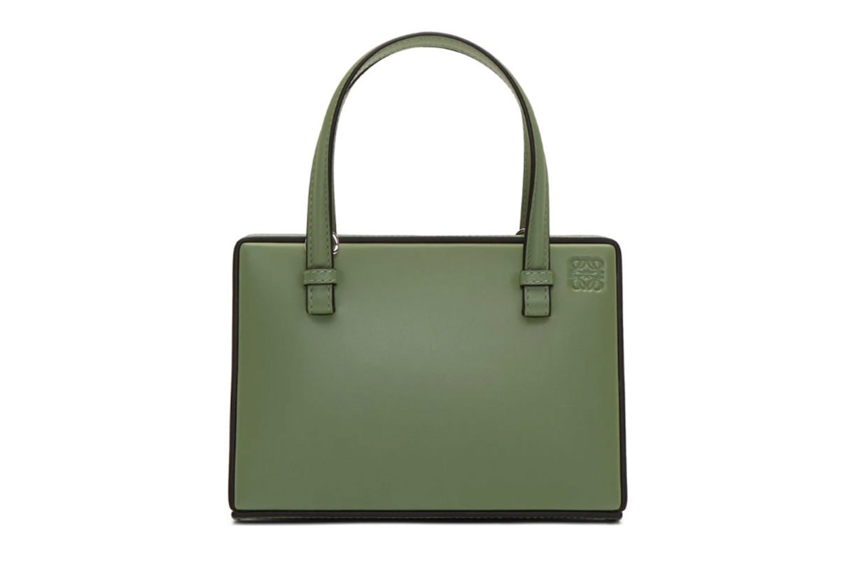 Loewe Green Small Postal Bag