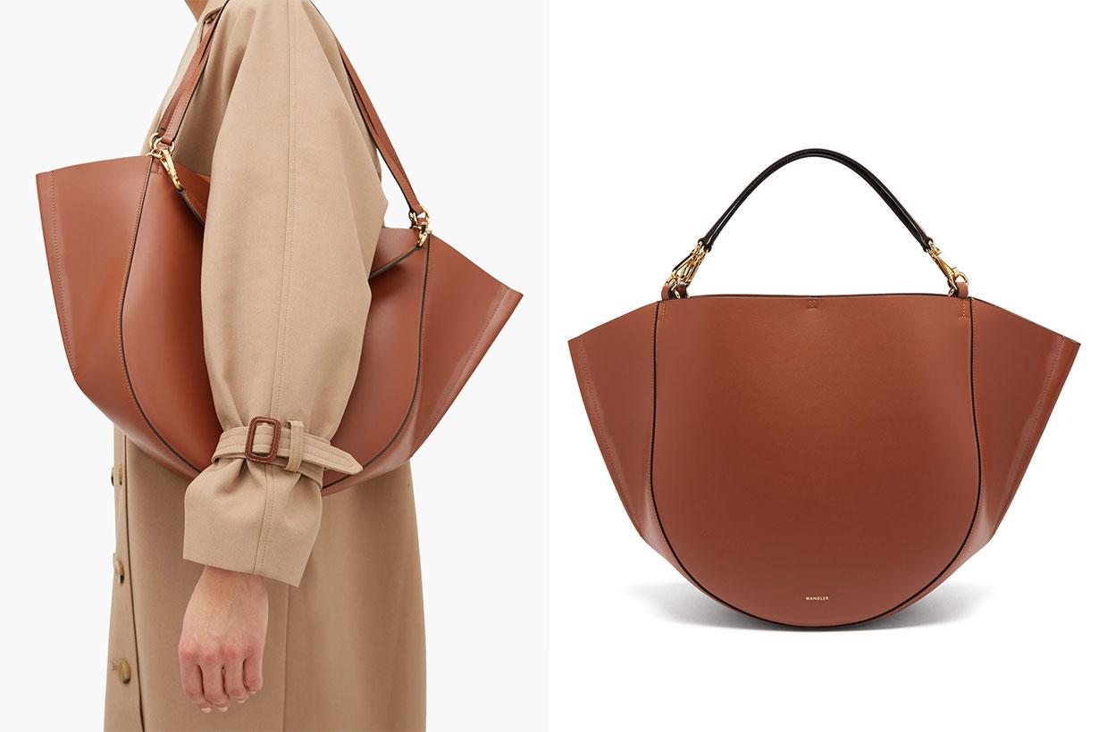 Mia Large Leather Tote Bag
