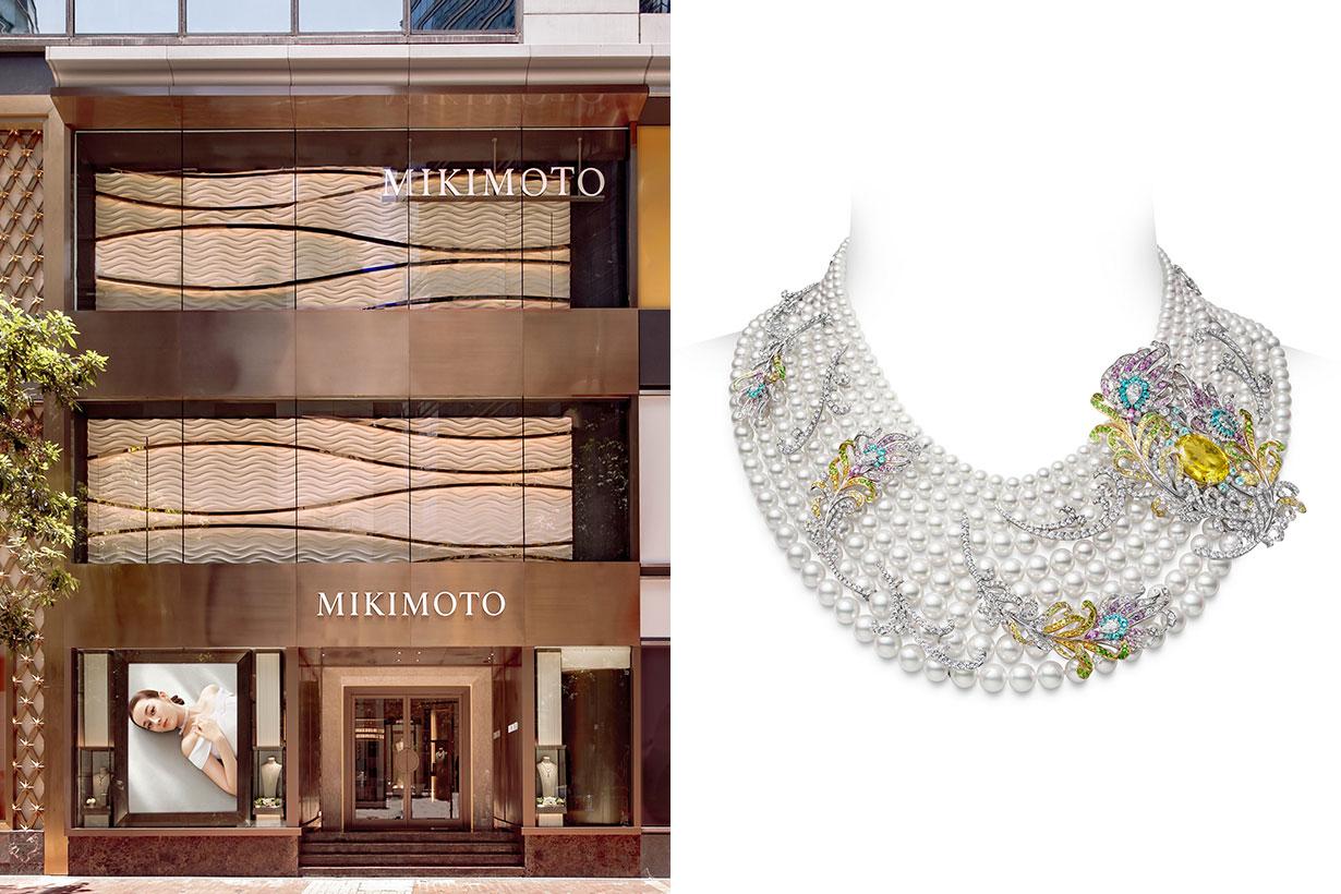 Mikimoto High Jewellery Necklace