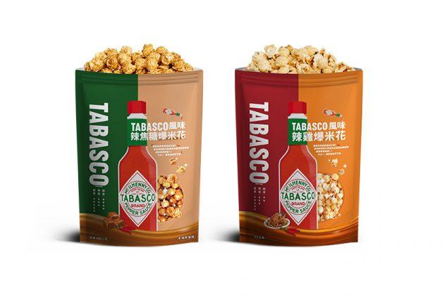 tabasco popcorn caramel chicken flavor limited taiwan