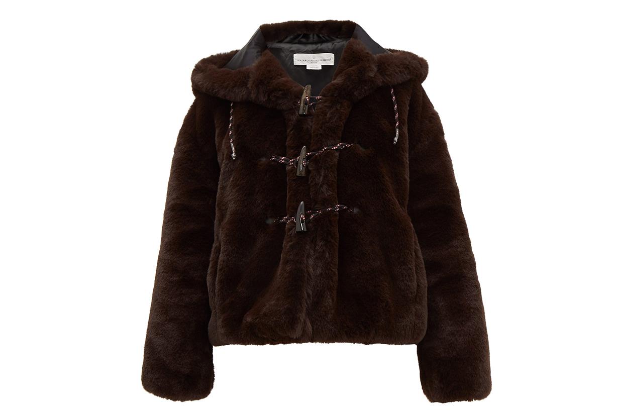 Tsuba Faux-fur Hooded Jacket
