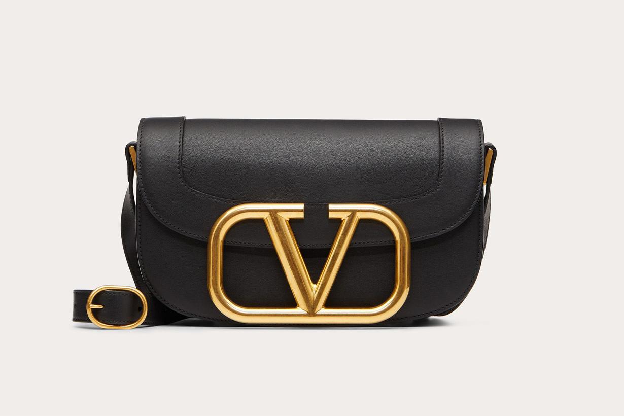 Valentino Supervee Calfskin Crossbody Bag