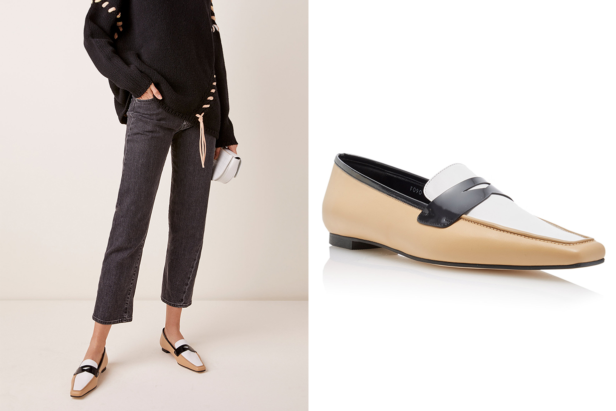 Yuul Yie Exclusive Ivy Leather Loafers