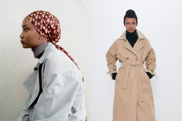 zara different culture size color model lookbook