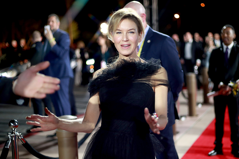 Renee Zellweger Judy Golden Globe Awards Best Actress