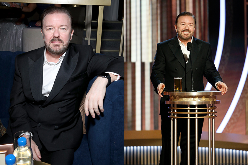 2020 Golden Globe Awards Ricky Gervais
