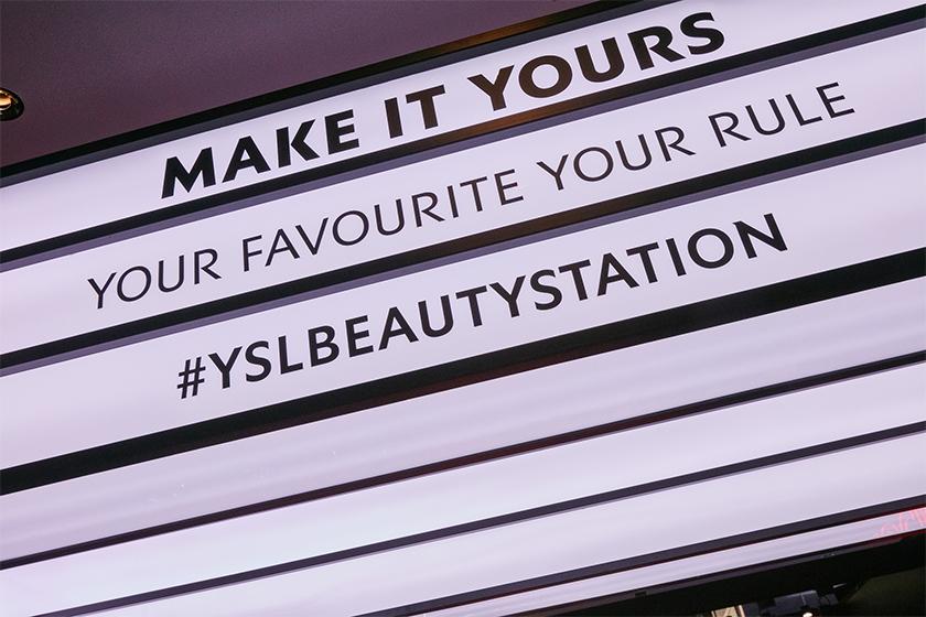 YSL Beauty Station Taipei 2020