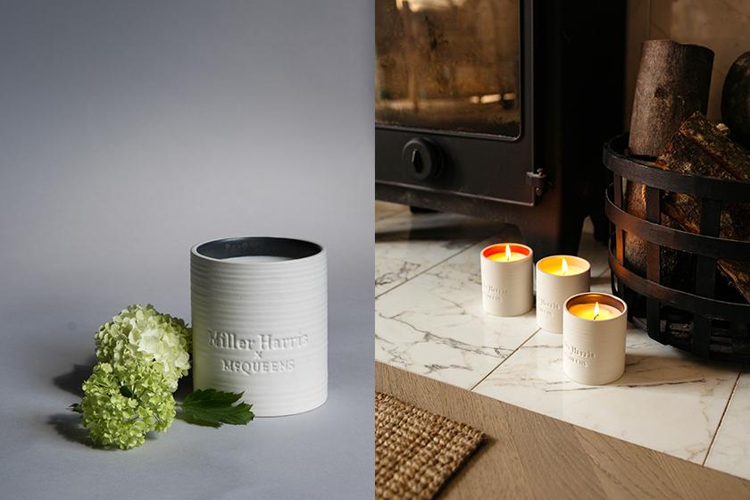 Miller Harris x McQueens Scent Candles