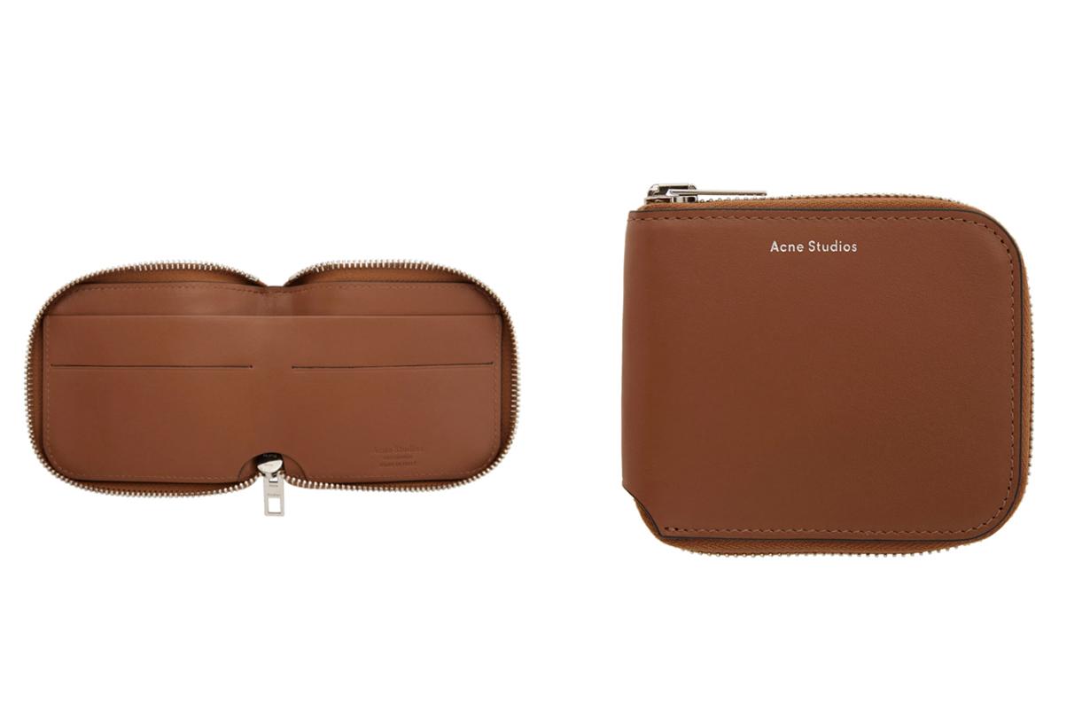 Acne Studios Brown Kei Compact Wallet