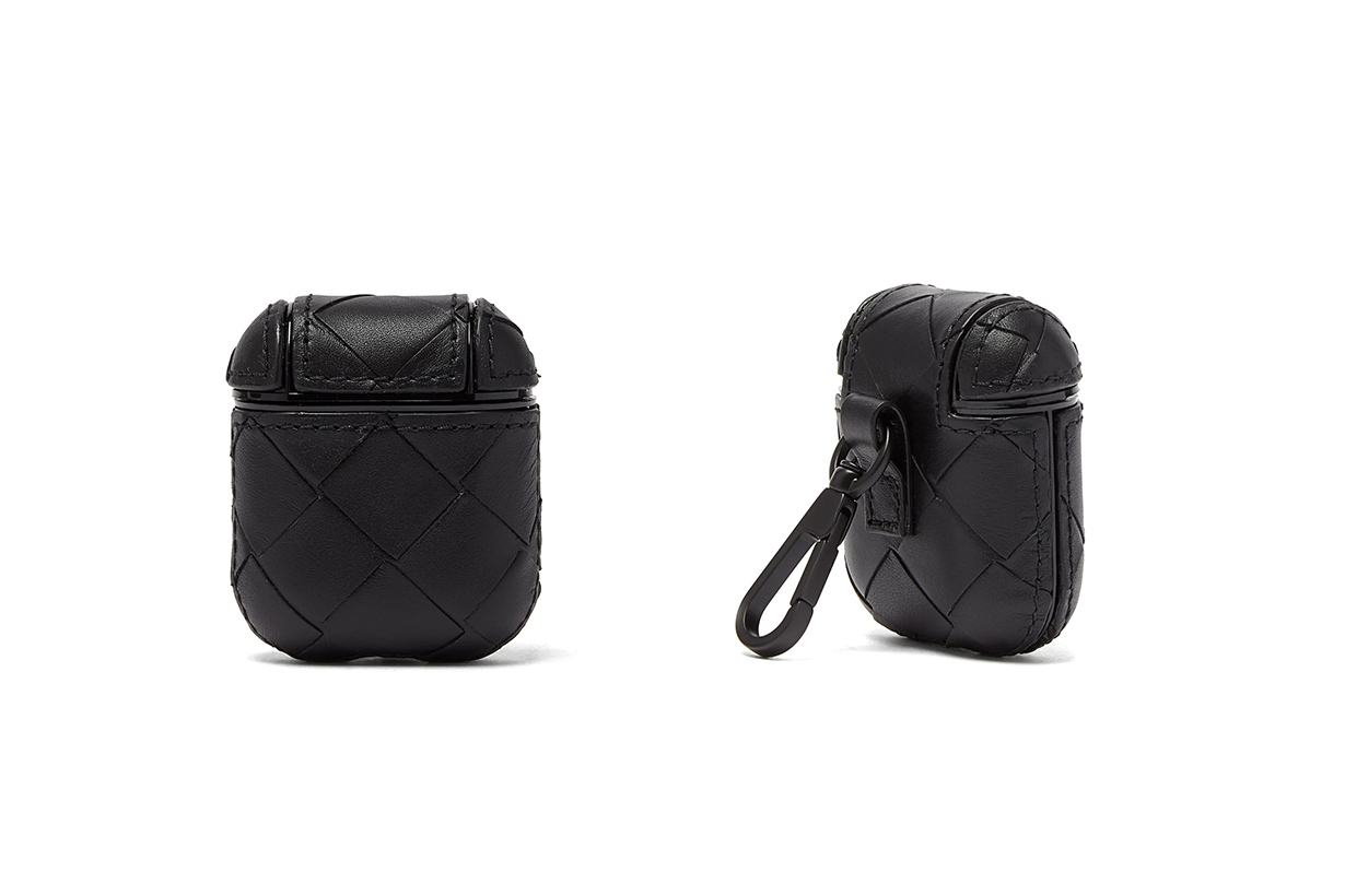 bottega veneta intrecciato leather airpods case release