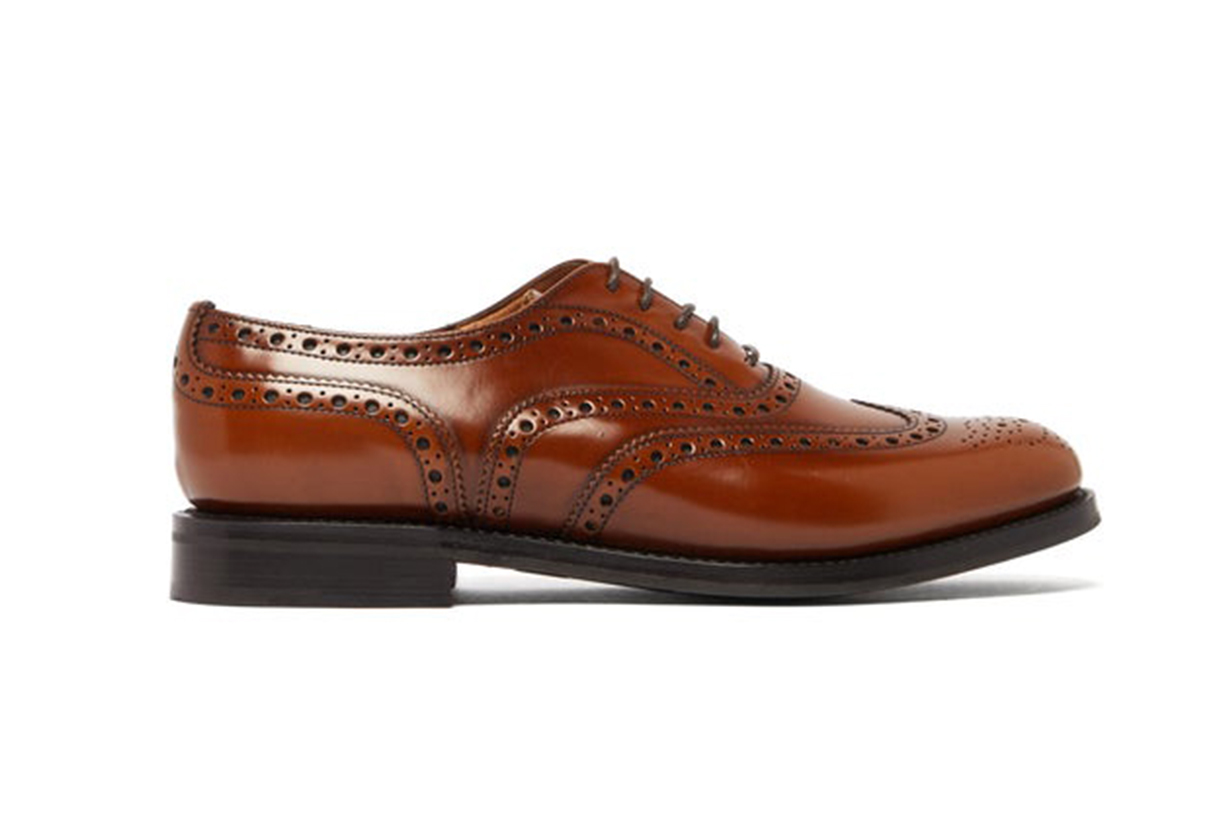 Burwood Antiqued Leather Oxford Shoes