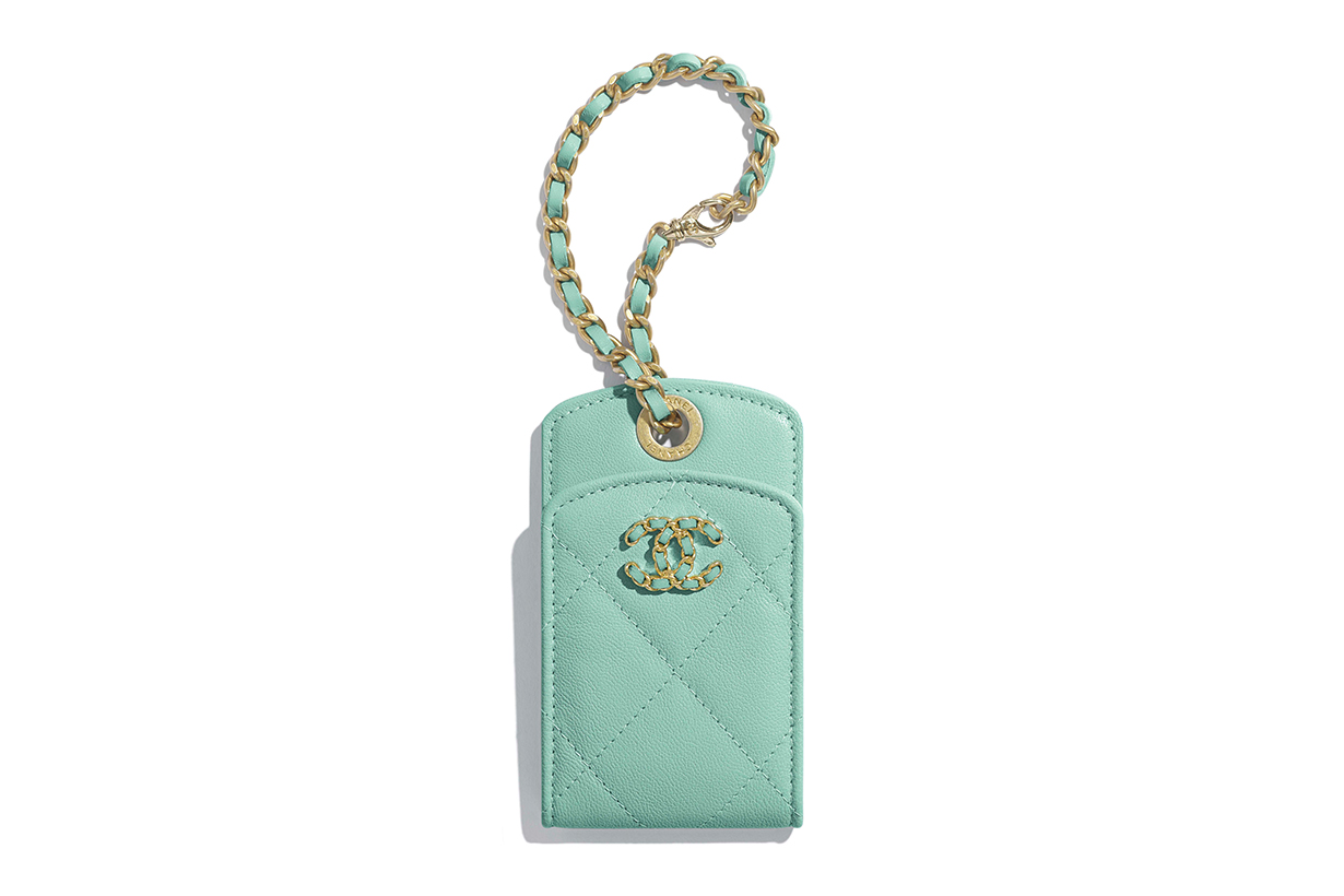 Chanel Luggage Tag