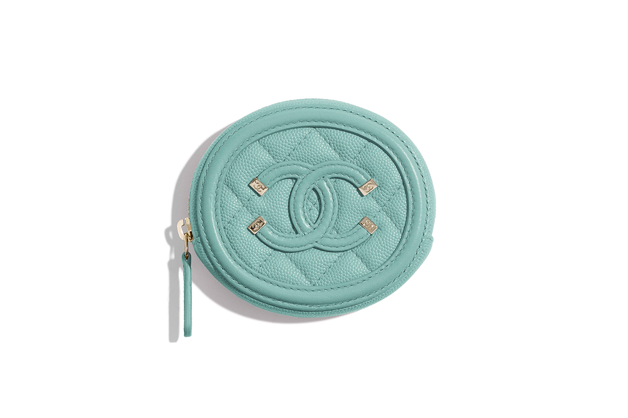Chanel Zipped Coin Purse
