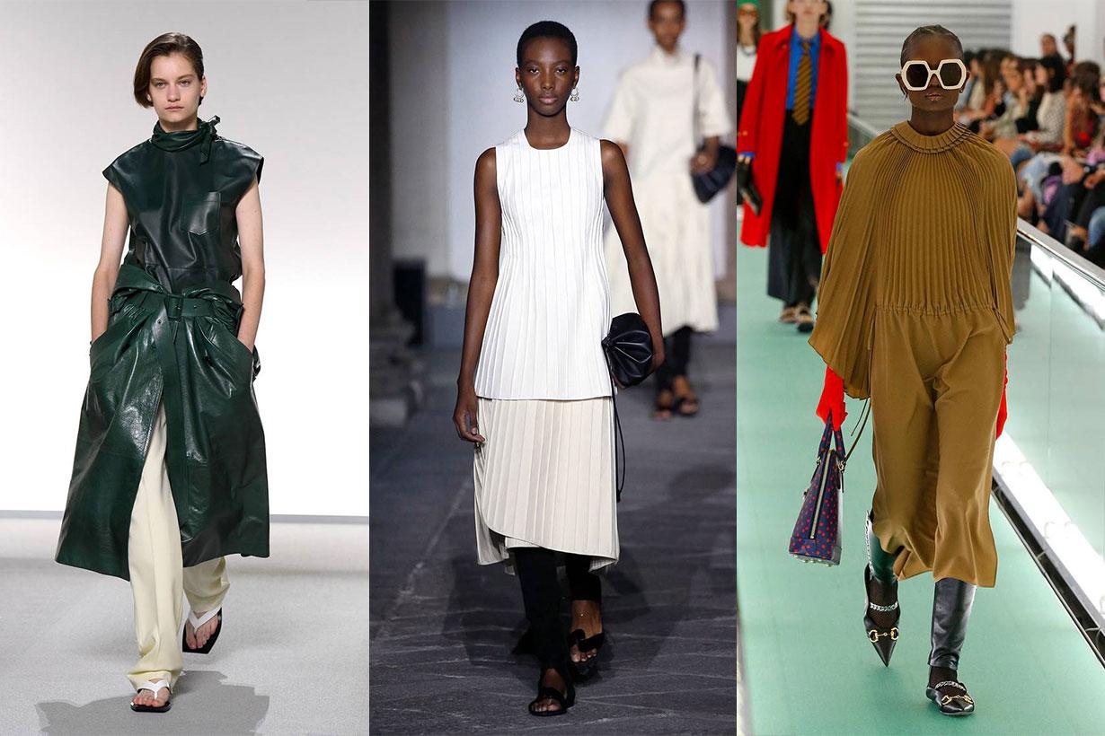 Givenchy, Jil Sander, Gucci