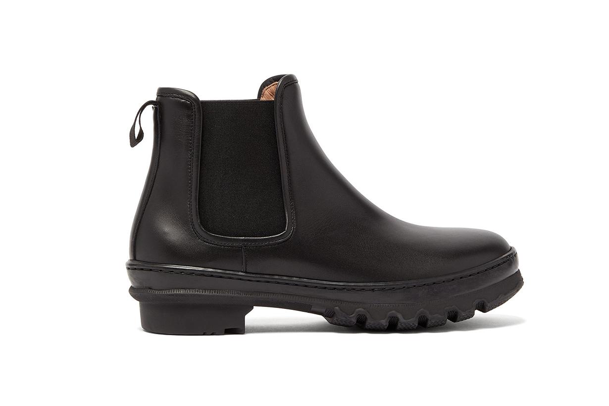 Garden Trek-sole Leather Chelsea Boots