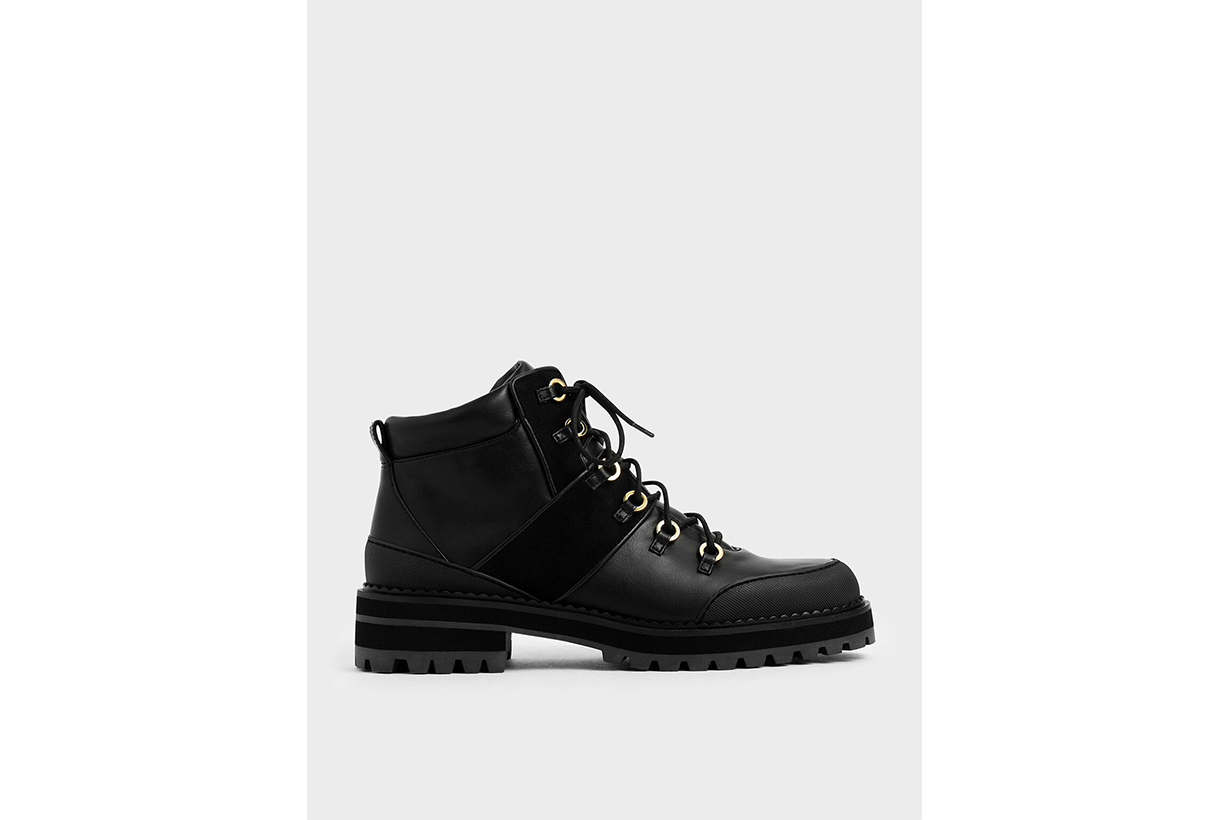 Lace-Up Hiking Boots