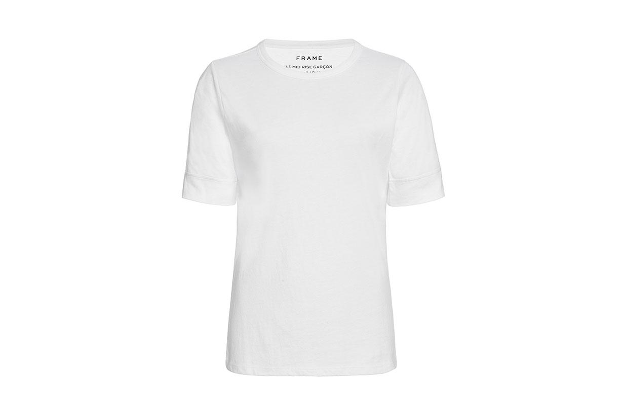 Le Mid-Rise Cotton-Jersey T-Shirt
