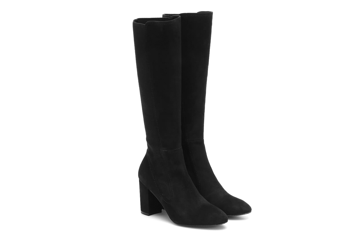 Livia 80 Suede Knee-high Boots