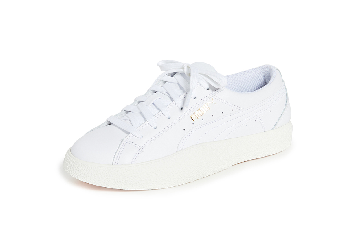 PUMA Love Leather Sneakers