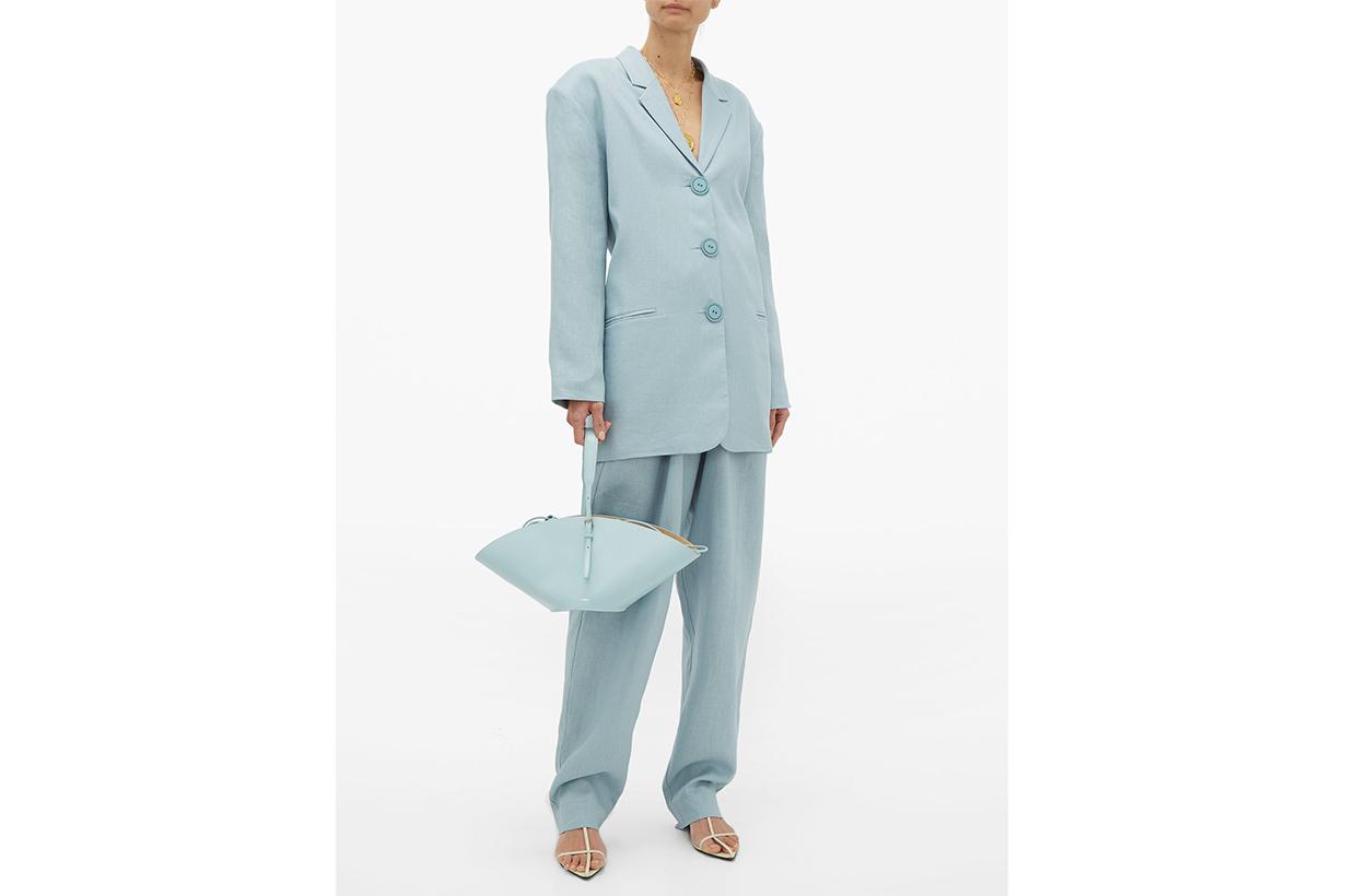 Manus Oversized Linen Blazer
