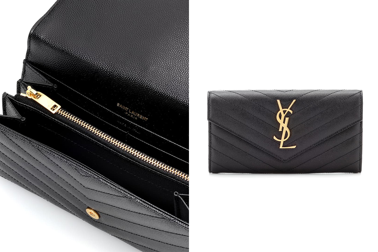 Monogram Large leather wallet