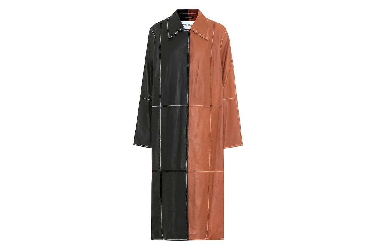 Nino Leather Coat