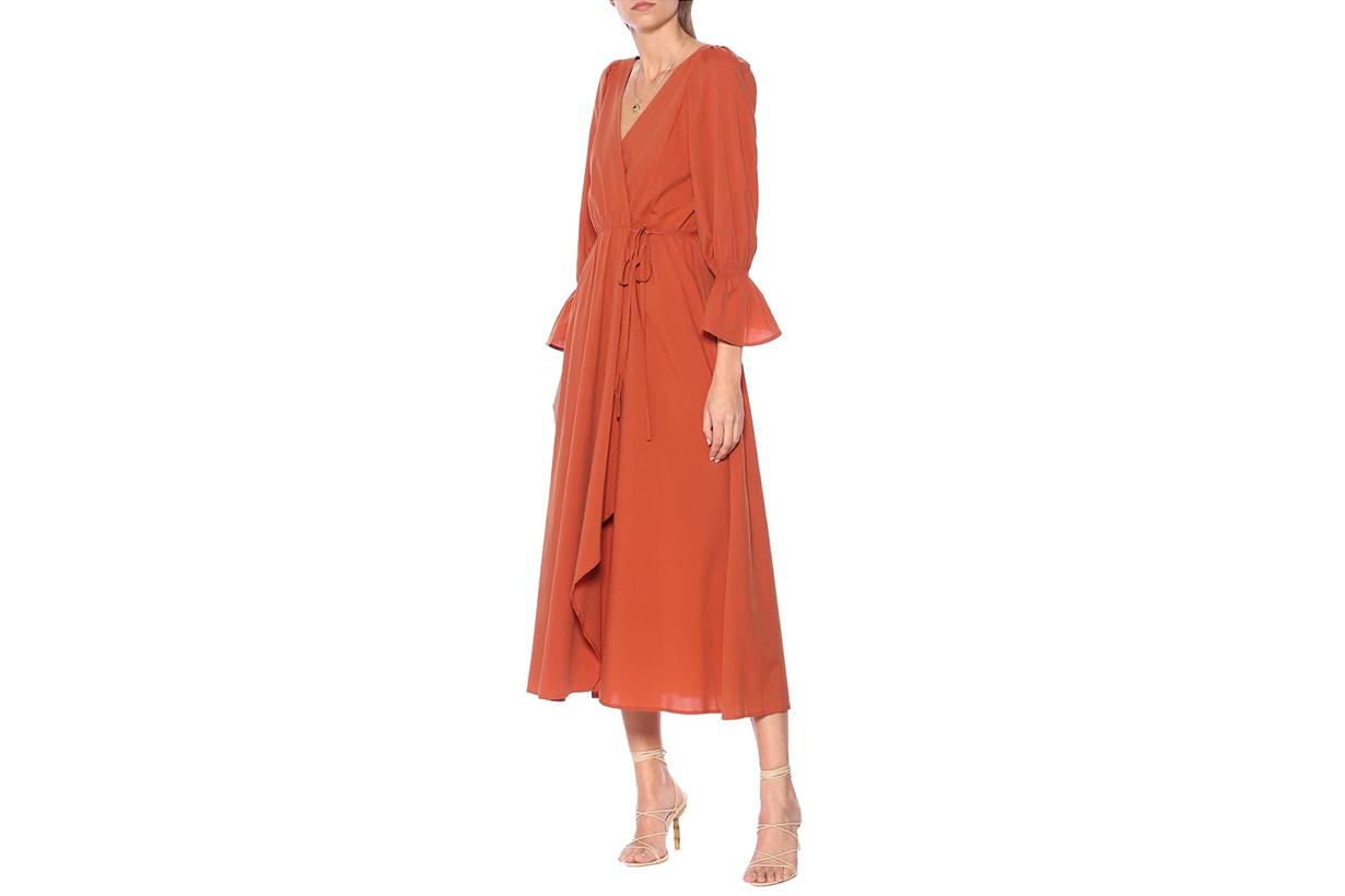 Oona Cotton-blend Midi Dress
